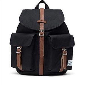 Herschel Dawson Womens' Backpack-Black/Tan